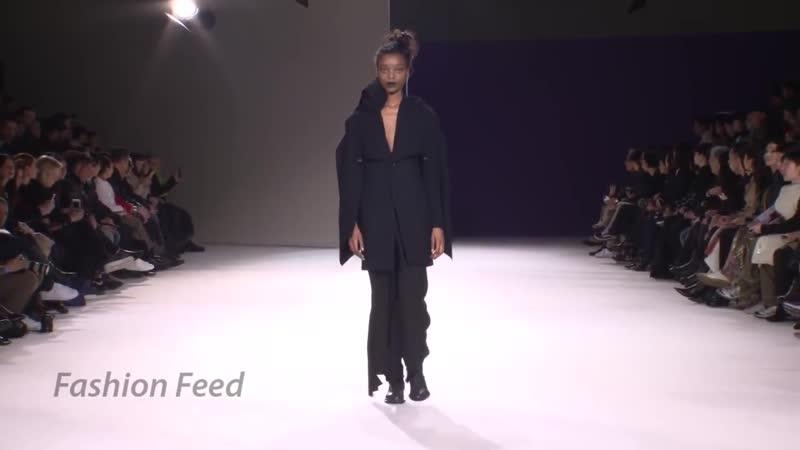 Yohji Yamamoto _ Fall_Winter 2019_20 _ Paris Fashion Week