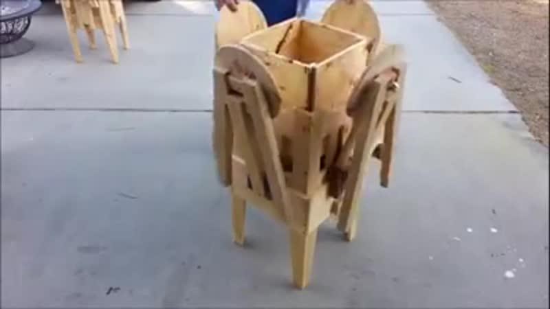 Katlanabilir piknik masası Portable picnic table - Folding picnic table - Mechan