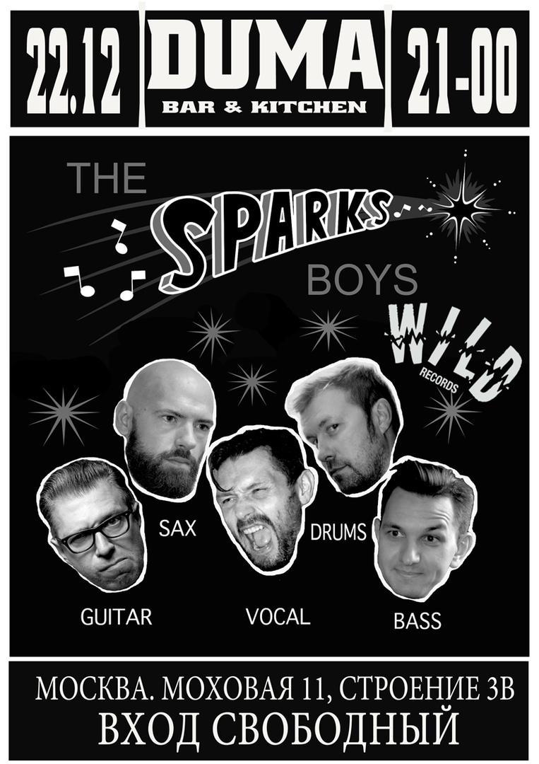 22.12 The Sparks Boys в клубе Дума!