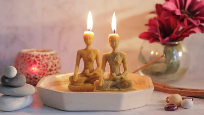 Свеча Будда