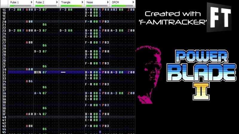 Power Blade 2 - Boss Theme (0CC-Famitracker) [2A03] .ftm