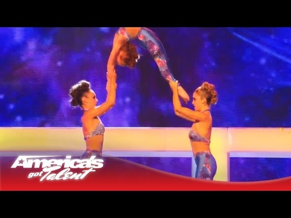 Innovative Force High Flying Acrobatic Dance America's Got Talent Semi Finals 2013