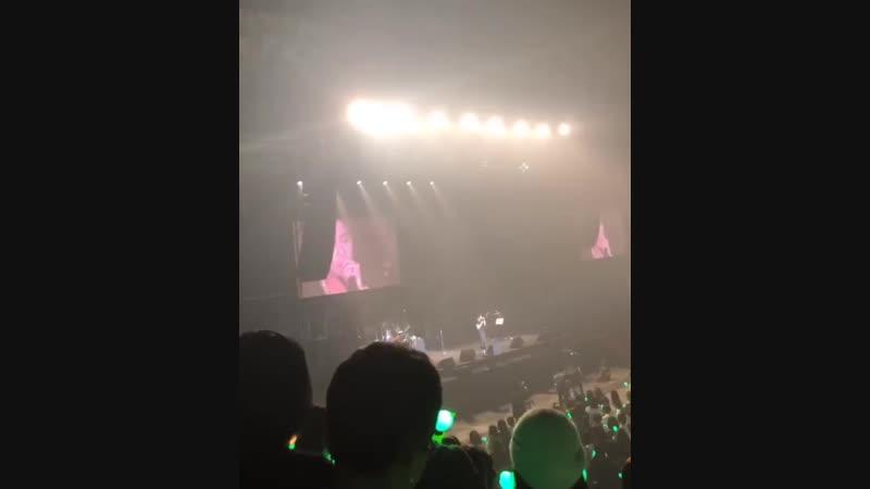 [2018.11.05] Kim Hyun Joong Takemyhand Encore at Makuhari Messe Event Hall ~ encore talk1