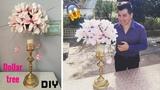Dollar tree DIY Wedding floral centerpiece super glam!!