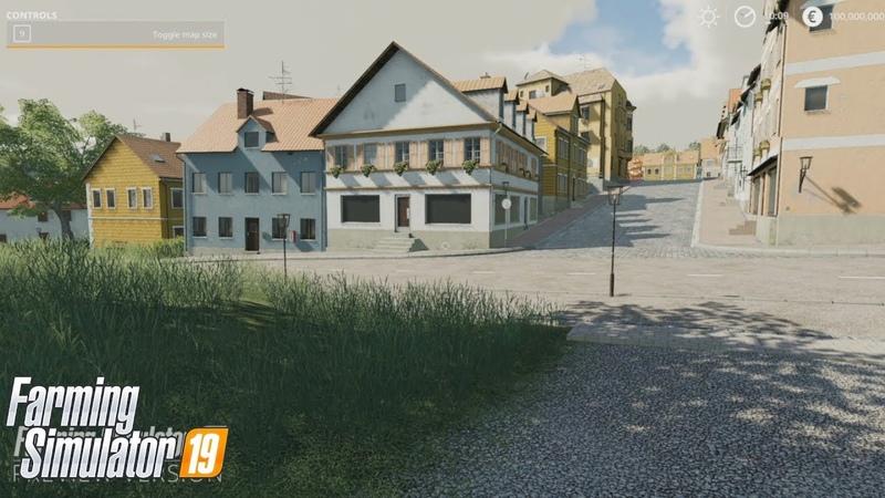LS19 Gamescom - Rundgang durchs Dorf mit vielen Details / Fahrende Busse vielleicht / KI Verkehr neu