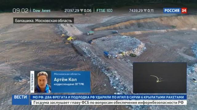 Новости на Россия 24 Ногинск Можайск Клин и Люберцы кому достанется кучинский мусор