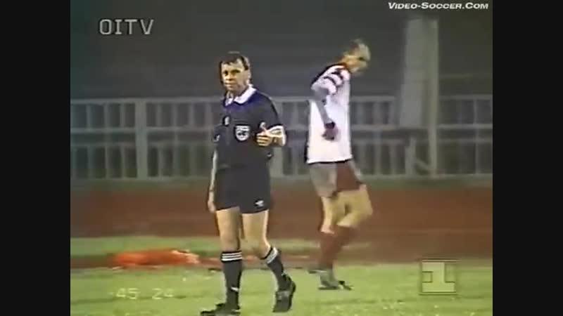Лига Чемпионов 1993/94. Спартак Москва - Сконто (Латвия) - 4:0 (3:0).