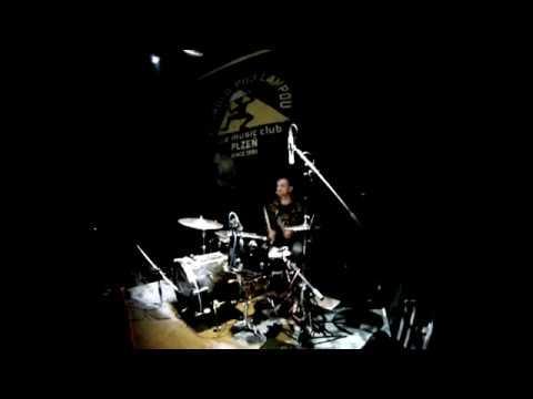 The Grand Astoria - drum cam Plzen 15.03.2016