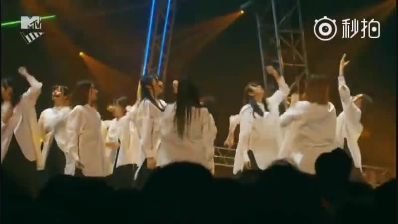 欅坂46「Student Dance」 MTV VMAJ 2018 THE LIVE