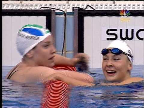 Megan (Quann) Jendrick Leisel Jones 2000 Sydney Olympics 100m Breaststroke