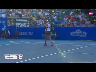 «vika7 strikes early with the forehand #AMT2019…