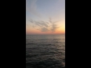 вид с ресторана отеля бескрайнее море красивый закат необыкновенная музыка