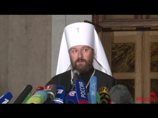 Интервью митрополита Волоколамского Илариона в связи с решением Священного Синода.