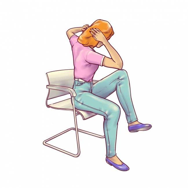 Это упражнение действительно хорошо для вашей талии. Это заставляет ваши косые и нижние мышцы живота работать