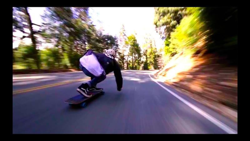Crazy Downhill Longboarding Run By Aidan Herrmann!