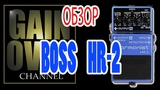 BOSS HR-2 (pedal review) - GAIN OVER Обзор BOSS HR-2