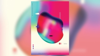 Abstract colors Gradient Effect in Adobe Photoshop | I Tutorials