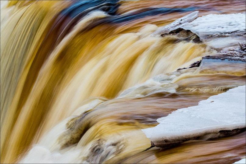 Пивной водопад.