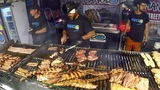 South America Street Food. The King of Grill