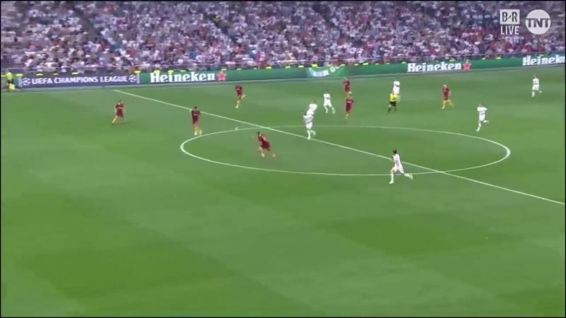 Real Madrid 3-0 AS Roma Champions League