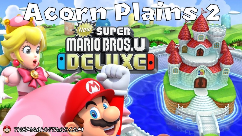 NEW SUPER MARIO BROS U DELUXE - Part 2 - Gameplay Walkthrough - Nintendo Switch