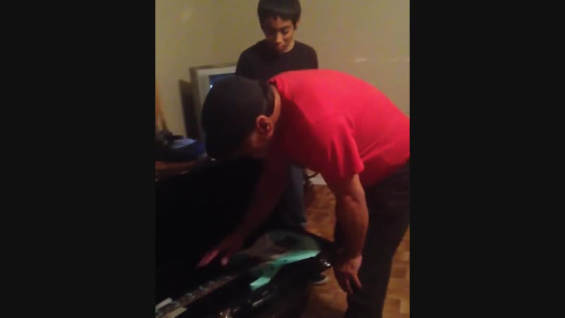 Dad sold his guitar to help his family through tough time, so his son bought him his dream guitar when he landed a great job