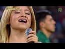 Karol Sevilla Canta el Himno de Mexico