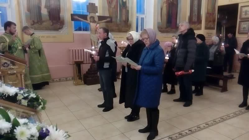 28.10.2018 г. Акафист Гавриилу Мелекесскому.