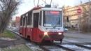 Один из последних бело-красной окраске 71-134А (ЛМ-99АЭ) №3032 в Москве!
