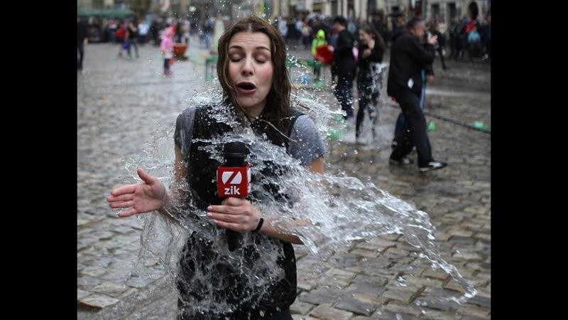 Обливаний понеділок у Львові - включення наживо