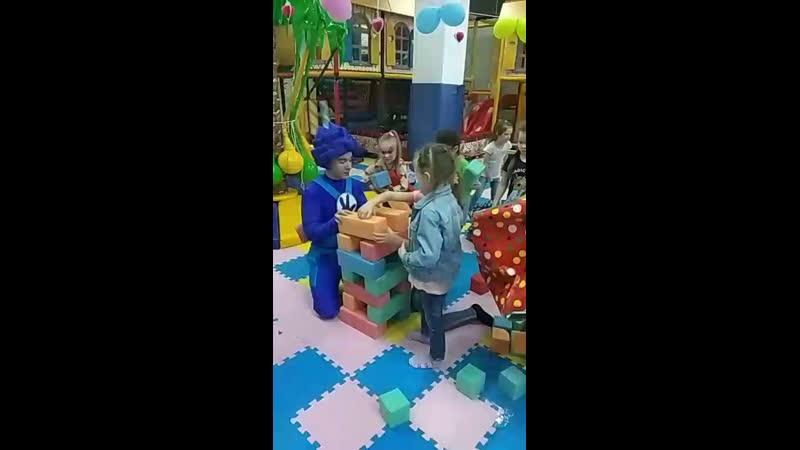 Фиксик Нолик со своей программой от агенства детских праздников Хамелеон