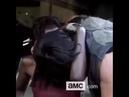 Norman Reedus Kissing Danai