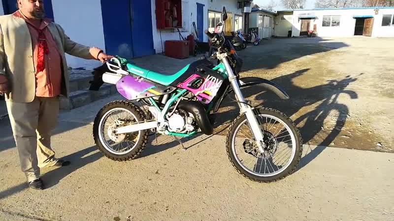 КАВАСАКИ КДХ 250.Супер Мотоцикл Для Зарабатывания ДЕНЕГ-В лесу