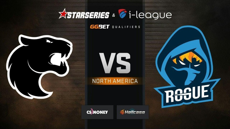 FURIA vs Rogue, map 3 Overpass, part 1, StarSeries i-League S7 GG.Bet NA Qualifier