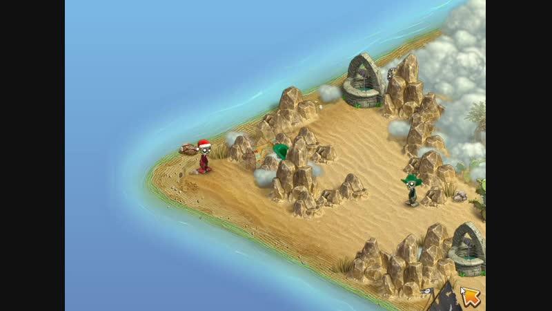 Зомби Ферма Открываем сундук на Острове Бедуинов