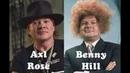 Axl Rose/Benny Hill Mashup Disaster