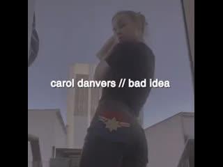 ↬ captain marvel ; carol danvers