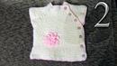 Часть 2 Детская безрукавка с боковой застежкой на 1 год Вязание спицами