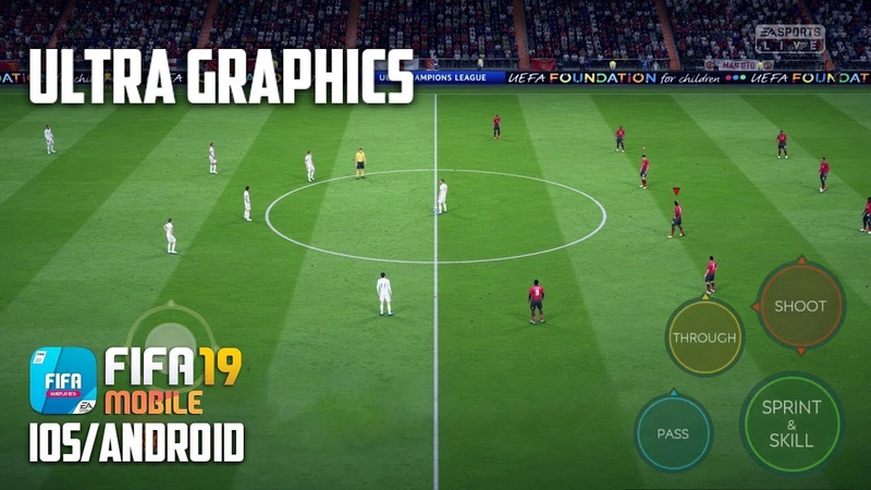 FIFA 19 MOBILE - ULTRA GRAPHICS - BETA GAMEPLAY (iOS/Android)