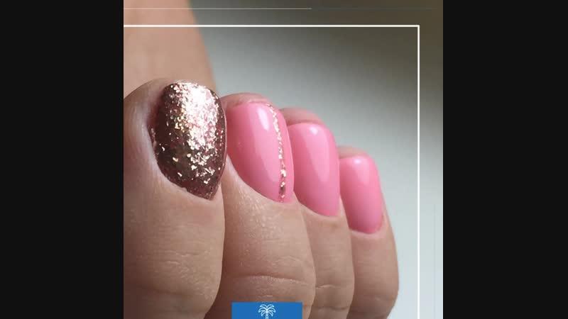Маникюр с покрытием гель-лак в Palma nails
