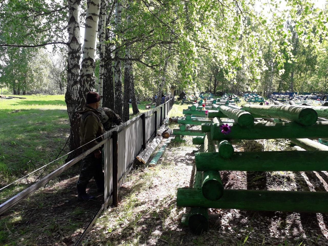Тавинск. Омская область. Зийрат, мусульманское кладбище