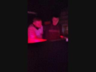 Ibiza night club. JaS b2b pn