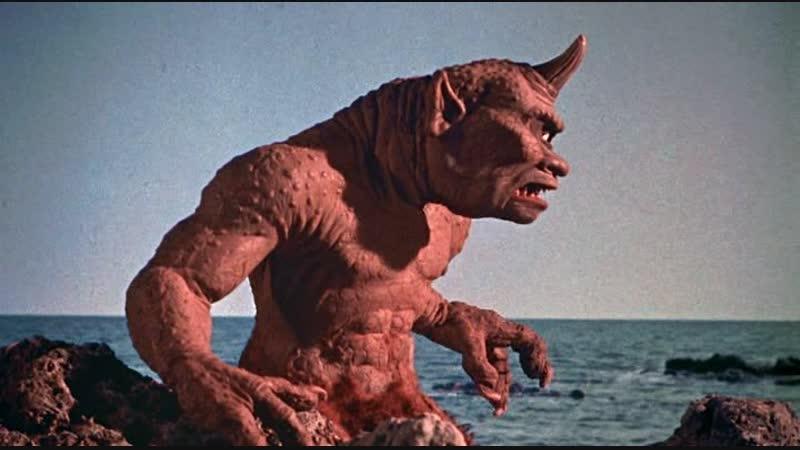 Седьмое путешествие Синдбада. (США, 1958) Приключения. Фильм дублирован на киностудии Союзмультфильм.