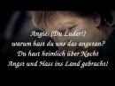 BfeD Angie du Luder warum hast du uns das angetan Weil Merkel Maulwurf Jüdin ist