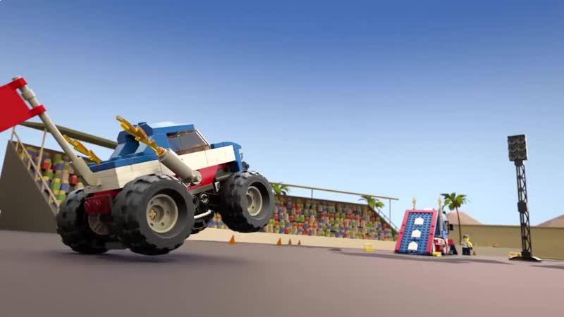 LEGO Creator 3in1 Monster Trucks Stunt Show! - 31085