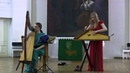 Гусли - Ольга Глазова, Арфа - Вероника Вишневская - концерт в Соборе / Gusli Olga Glazova