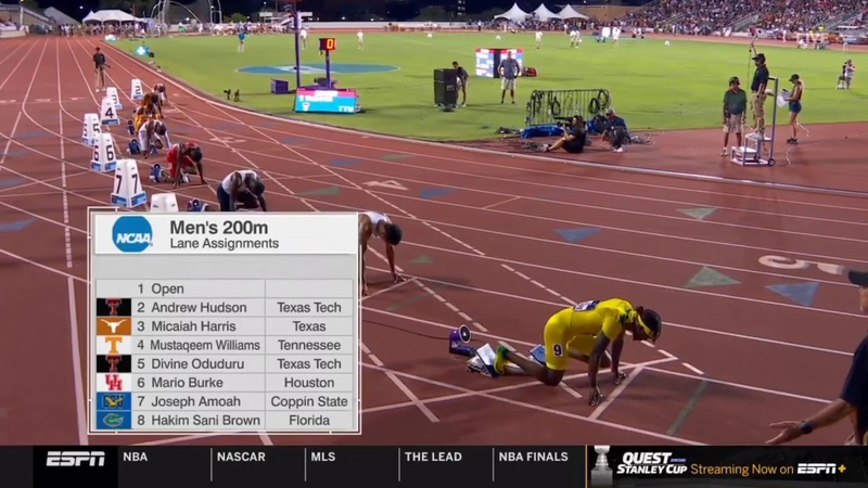 Men's 200m - 2019 NCAA Outdoor Track and Field Championships