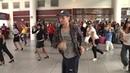 Flash mob all'aeroporto di Ciampino