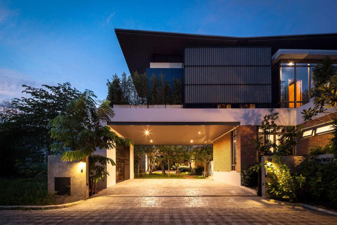 Частный дом в Бангкоке