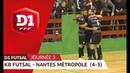 J3 : Kremlin Bicêtre Futsal - Nantes Métropole (4-3)